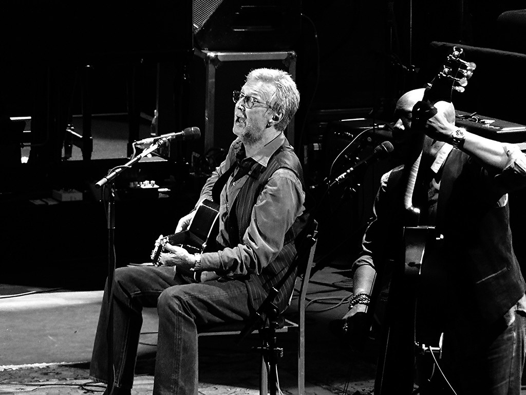 """Eric Clapton (""""Clapton"""" by Jonathan Bayer is licensed under CC BY-NC-SA 2.0)"""