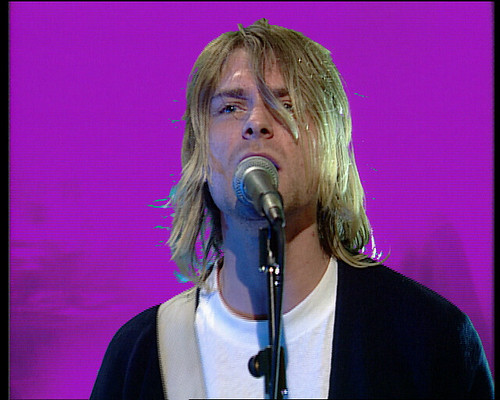 """Kurt Cobain (""""Screen Grab from The Word"""" by Catfunt is licensed under CC BY-NC-SA 2.0)"""