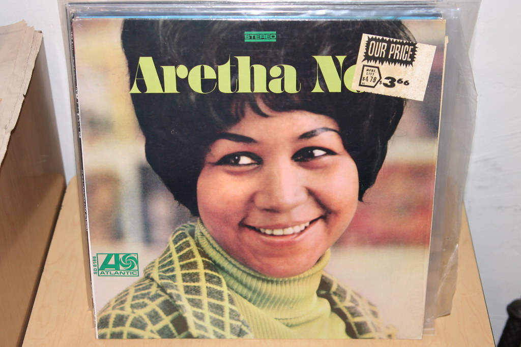 """Aretha Franklin (""""IMG_5898"""" by Public Collectors is licensed under CC BY-NC-SA 2.0)"""