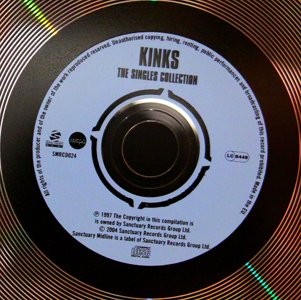 """The Kinks (""""CD Inner 43"""" by Mark Morgan Trinidad B is licensed under CC BY 2.0)"""