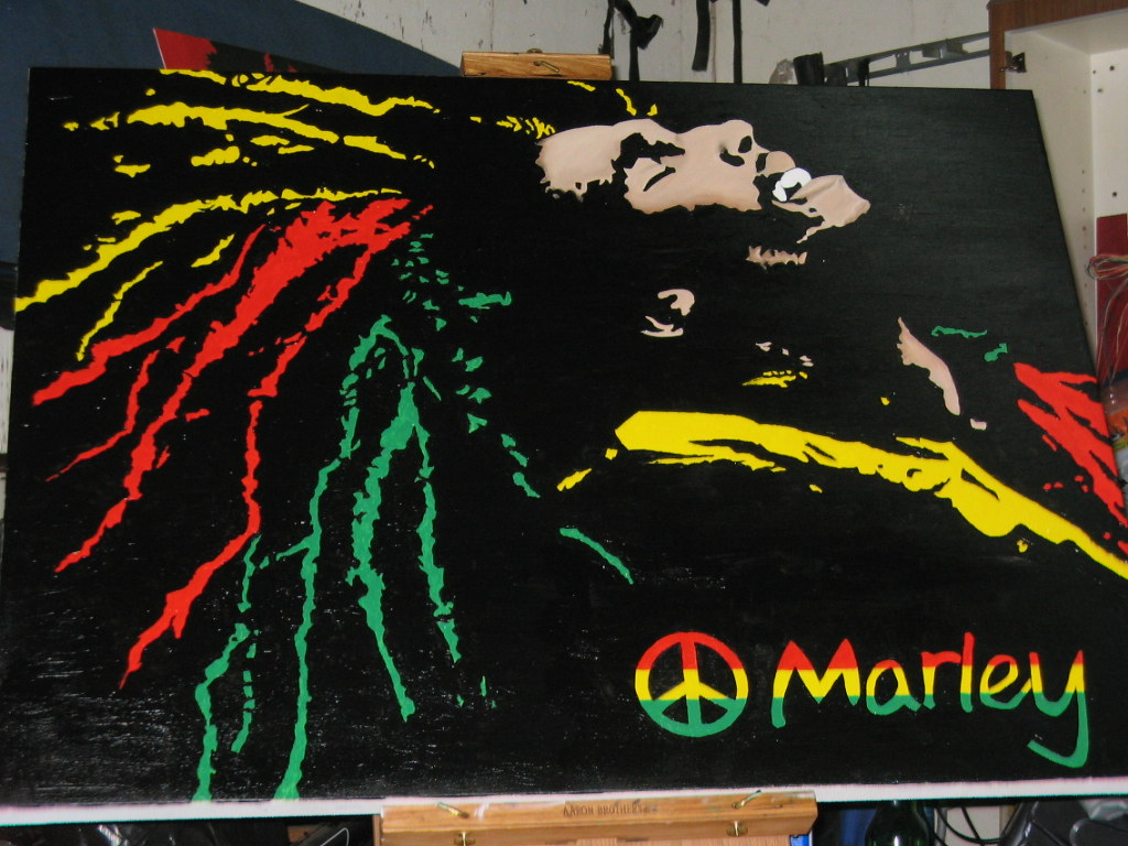 """Bob Marley creative rendition (""""bob marley"""" by fnswift1 is licensed under CC BY-NC 2.0)"""