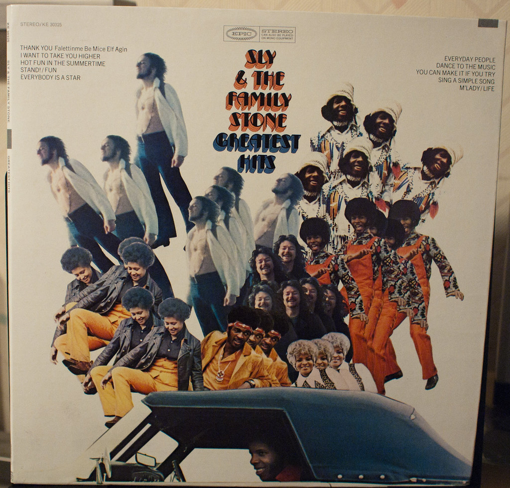 """Sly & the Family Stone cover of Greatest Hits (""""RSD 2011-12"""" by Mmm...Bacon! is licensed under CC BY-NC-ND 2.0)"""