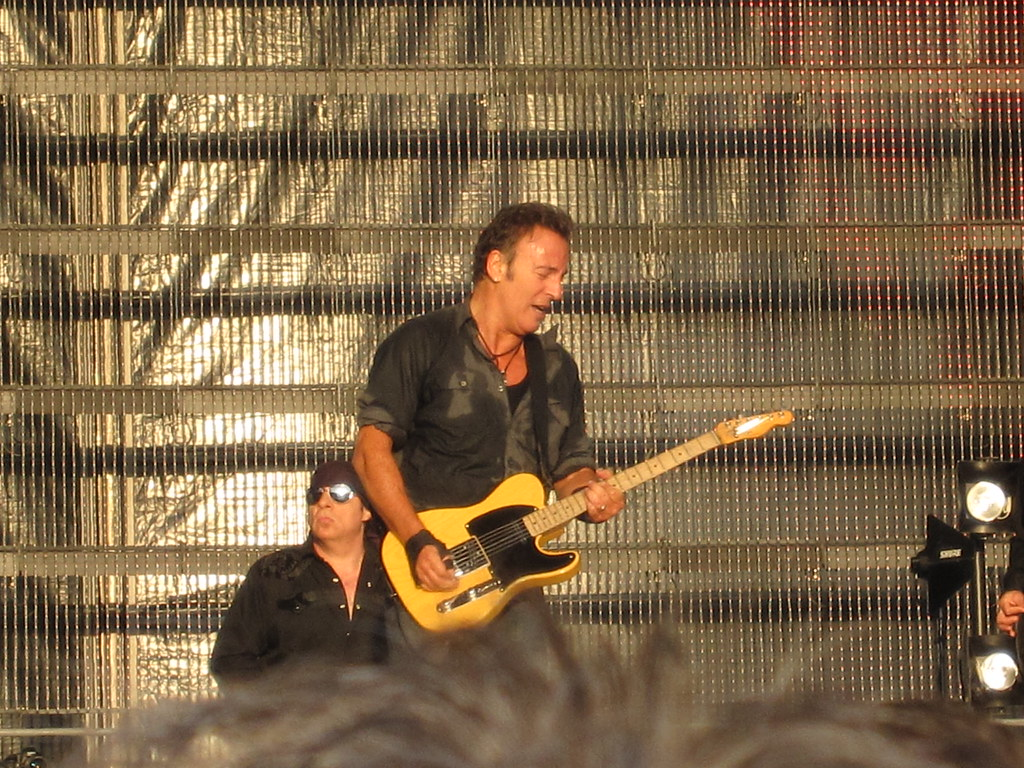 """Bruce Springsteen (""""IMG_1277"""" by avonea is licensed under CC BY-NC-ND 2.0)"""