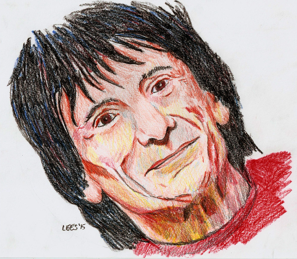 Ronnie Wood creative rendition